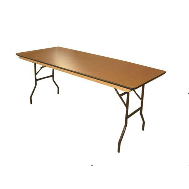 Rectangular Table 8ft X 30 Prestige Event Hire